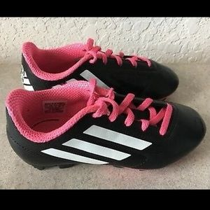 Kids Adidas soccer cleats size 12C